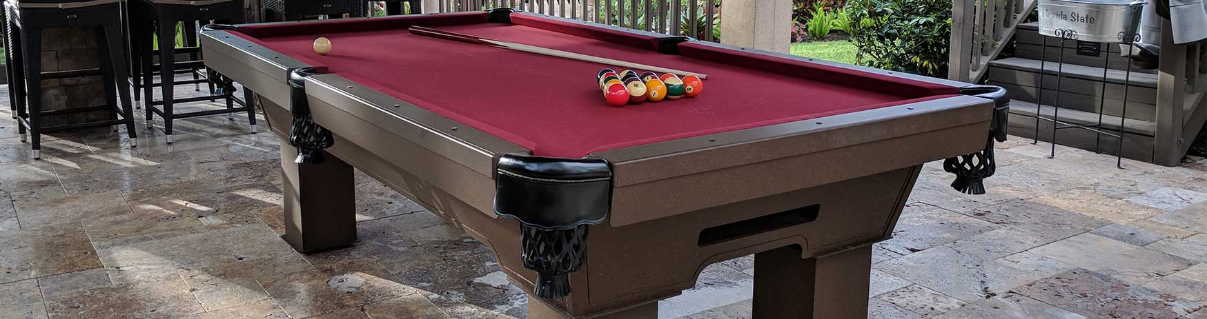 All Weather Billiards & Games is now R&R Outdoors | Outdoor Pool Tables