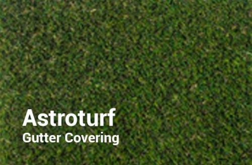 Outdoor Shuffleboard Table Gutter Covering in Astroturf from R&R Outdoors All Weather Billiards