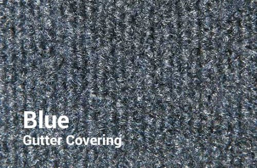 Outdoor Shuffleboard Table Gutter Covering in Blue from R&R Outdoors All Weather Billiards