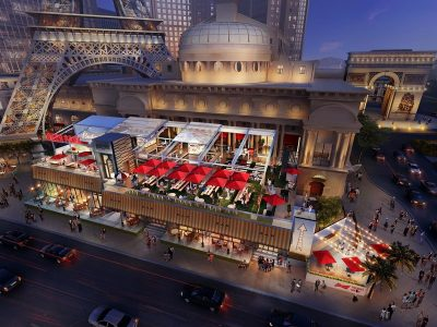 Beer Park by Budweiser Upgrades With Two Custom Balcony Outdoor Pool Tables