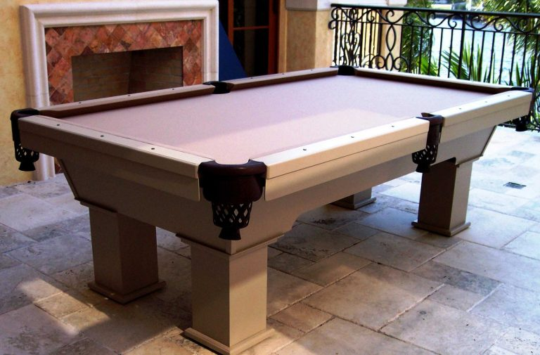 ... Caesar Custom Outdoor Pool Table By Ru0026R Outdoors All Weather Billiards