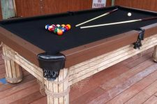 Caribbean custom pool table in Southwest Florida outdoor living space