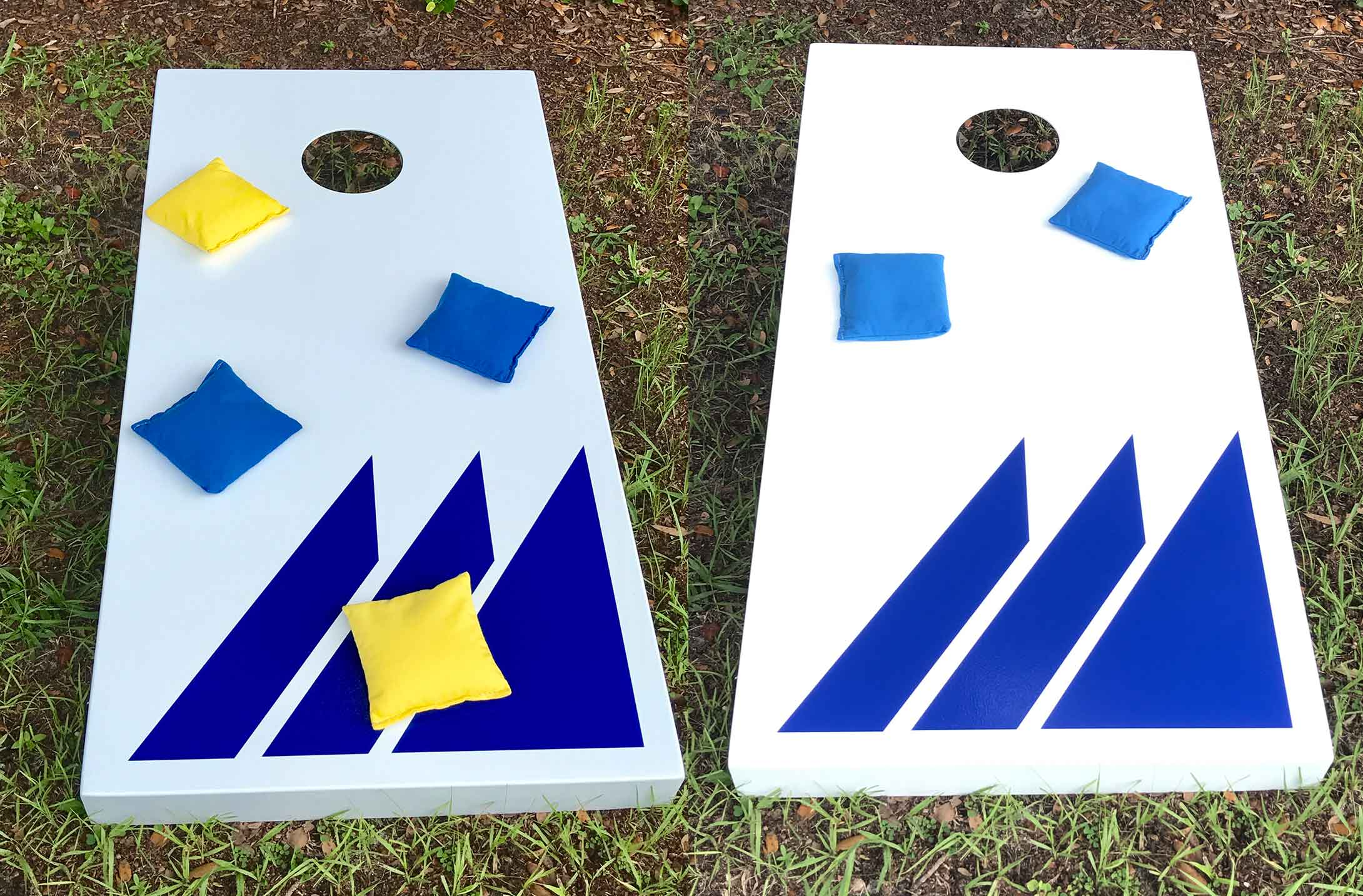 Outdoor cornhole set from R&R Outdoors All Weather Billiards