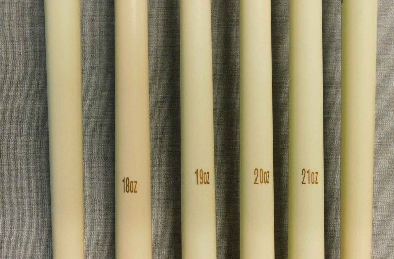 Various pool stick weight available at R&R Outdoors All Weather Billiards