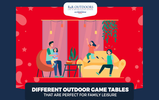Different Outdoor Game Tables That are Perfect for Family Leisure