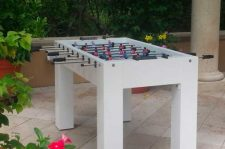 Ritz Carlton in Naples, Florida custom all weather foosball game table