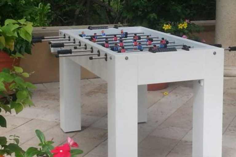 R&R Outdoors Foosball Table | Outdoor Game Tables