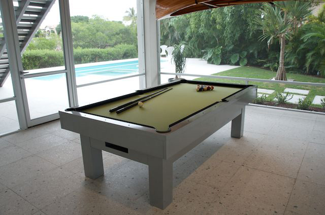 R&R Outdoors All Weather Billiards custom Orion outdoor pool table