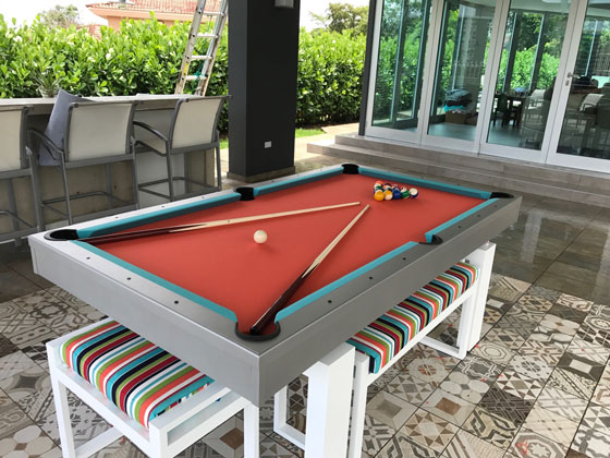 Accessories Gallery RR Outdoors Inc All Weather Billiards - Pool table hard top