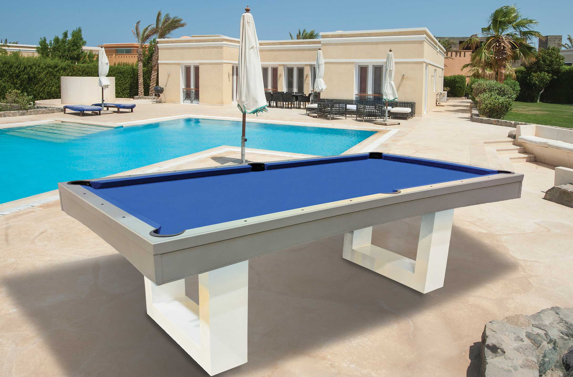 Horizon RR Outdoors Inc All Weather Billiards And Games - Composite pool table