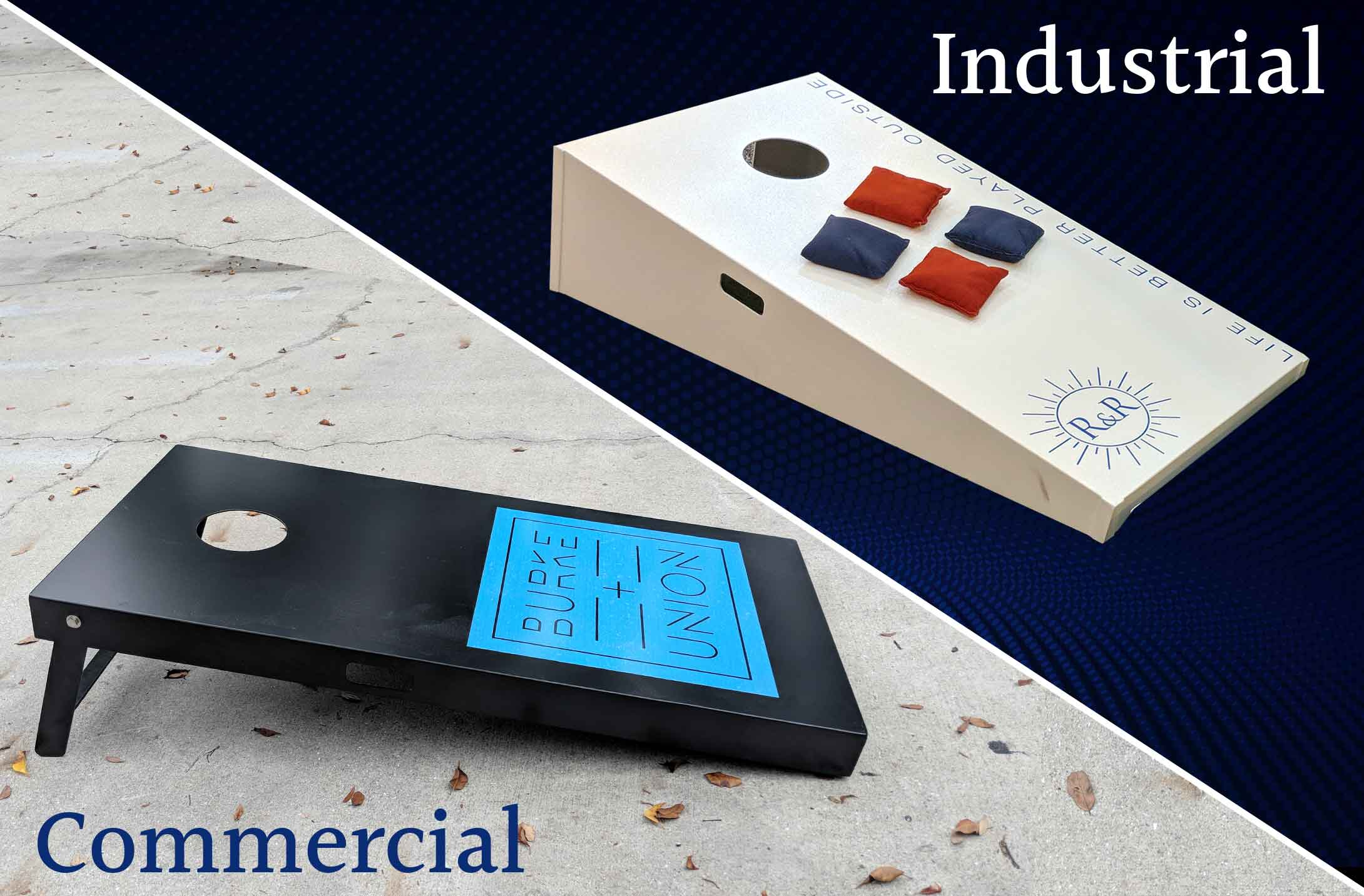 Industrial and Commercial Corn Hole Sets   R&R Outdoors