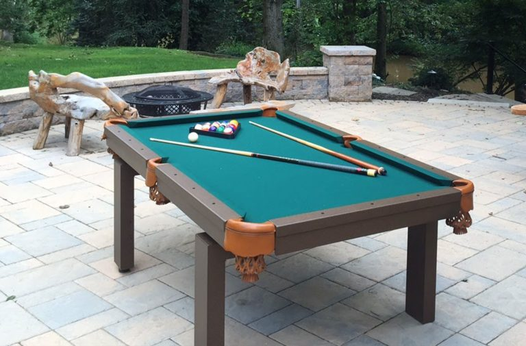 Oasis Outdoor Pool Table R Outdoors Inc All Weather