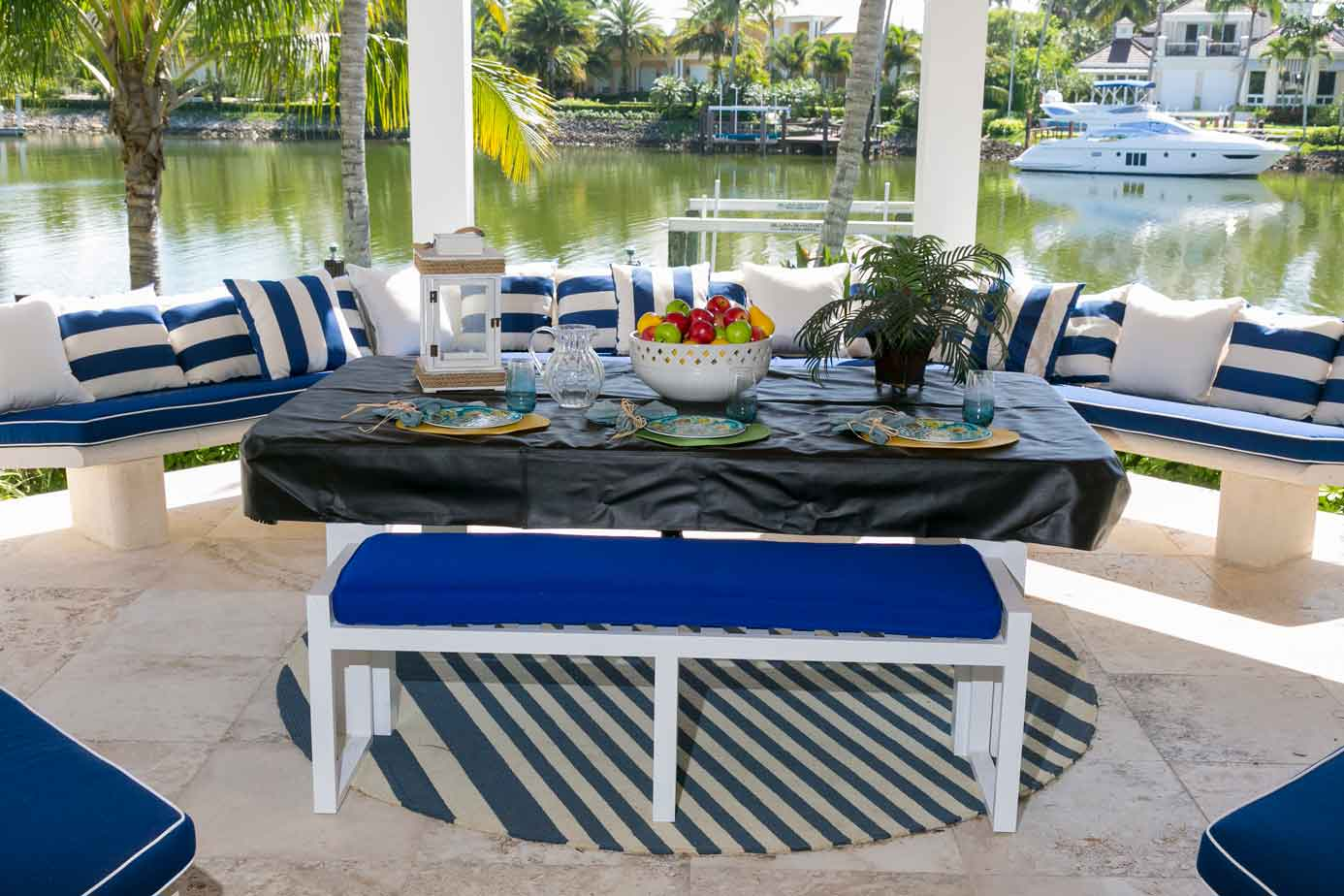 Oasis custom outdoor pool table with soft top dining conversion by R&R Outdoors All Weather Billiards