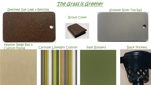 R&R Outdoors, Inc. All Weather Billiards The Grass is Greener Color Combinations