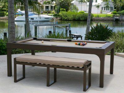 New Pool Table: Balcony