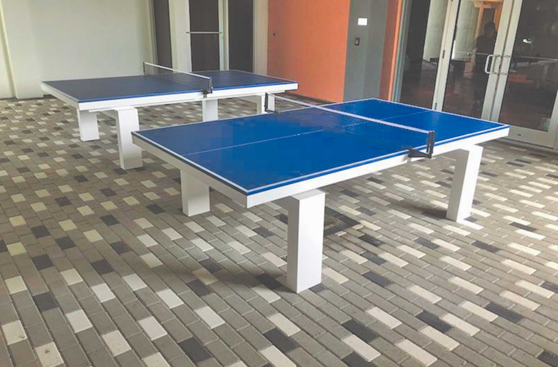 Table Tennis Ping Pong Table R R Outdoors Inc All Weather Billiards