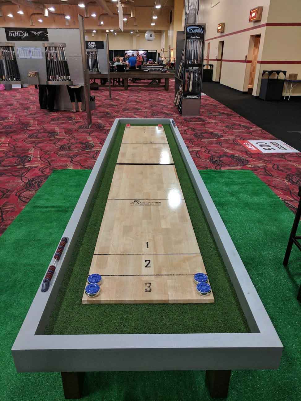 Shuffleboard Gallery R Amp R Outdoors Inc All Weather Billiards