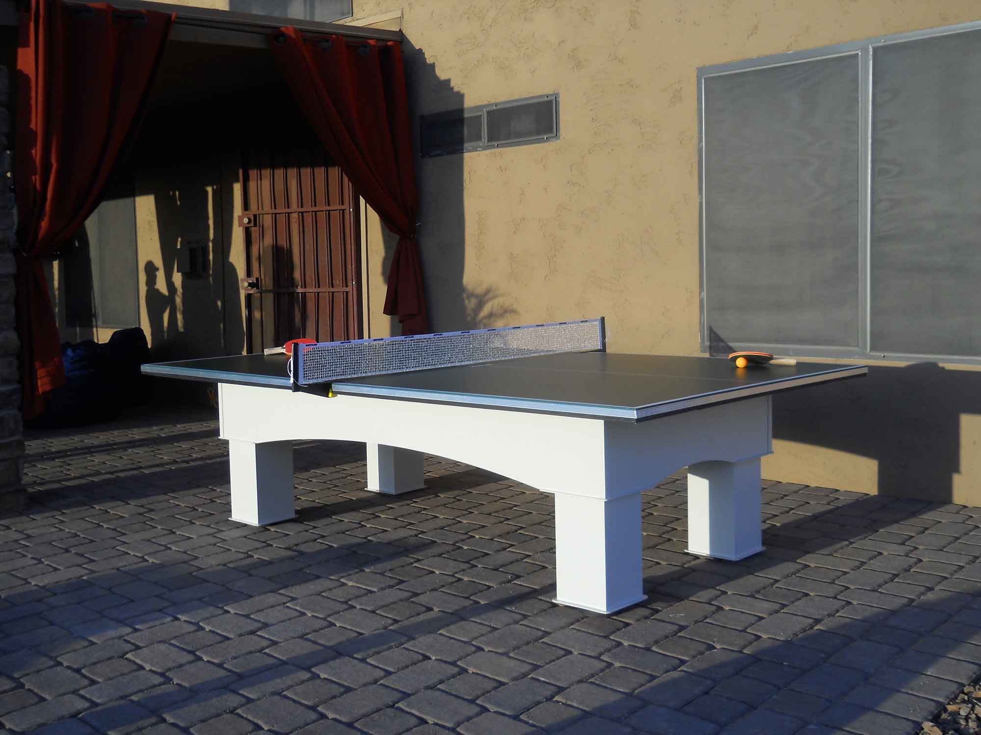 Outdoor table tennis game table from R&R Outdoors All Weather Billiards