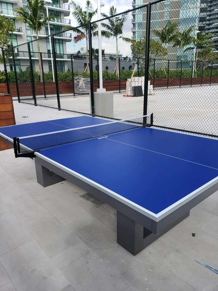 Outdoor Table Tennis Table in Southwest Florida from R&R Outdoors All Weather Billiards