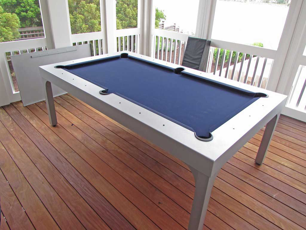 Balcony Outdoor Pool Table from R&R Outdoors