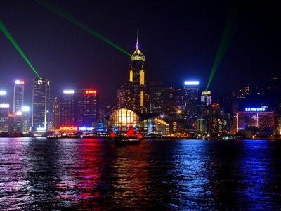 The Riley Hits Hong Kong