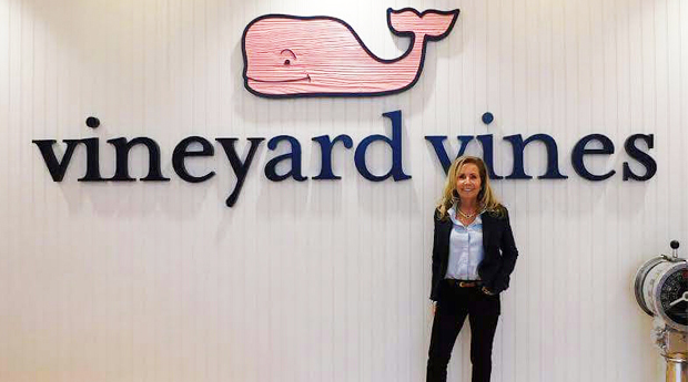 Robbie Selby, President & Director of Marketing at R&R Outdoors, Inc All Weather Billiards Naples Florida at the Vineyard Vines®